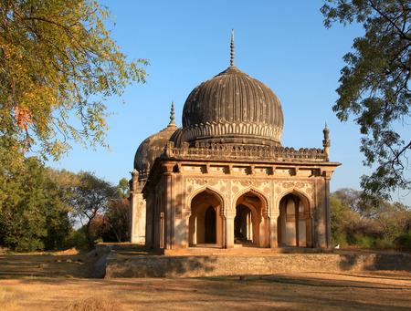 tumbas: tumbas Qutbshahi en Hyderabad, India