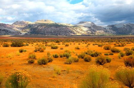 eastern: Eastern Sierra mountains Stock Photo