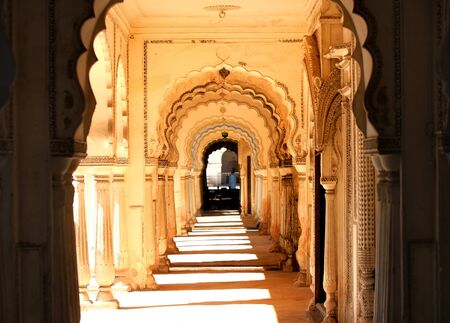 Paigah tombs in Hyderabad India Stock Photo