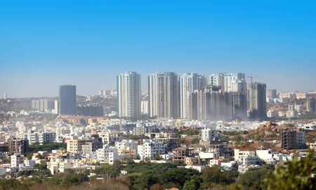 HYDERABAD INDIA -December 16 : Hyderabad is fifth largest contributor city to Indias GDP with US $74 billion . On December 16,2016 Hyderabad, India