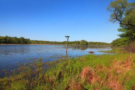 Kensington park bird sanctuary in Michigan Stock Photo