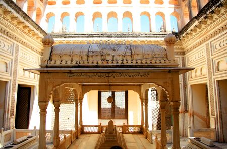 octogonal: Beautiful architecture of historic Paigah tombs in Hyderabad, India