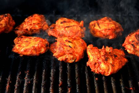 seekh: Indian style marinated and cooked on grill