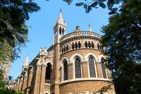 Rajabai clock tower and library building in Mumbai