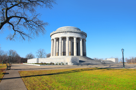 George Rogers Clark national historic park in Vincennes Indiana Stock Photo
