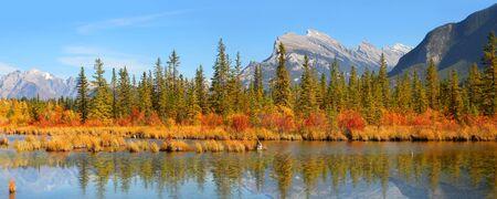 バーミリオン湖バンフ国立公園内の景勝地
