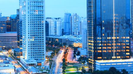 Tall business buildings in Sao Paulo,Brazil.On May 03, 2015 Sao Paulo, Brazil. Redakční