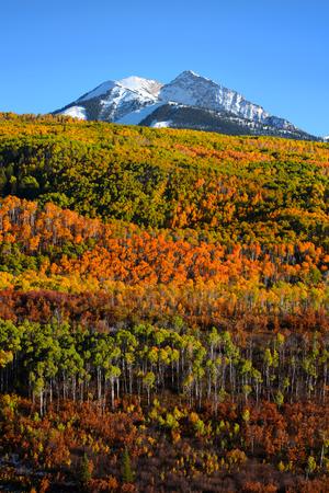 San Juan Berglandschaft in der Herbstzeit