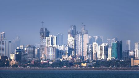 9 Mumbai, INDIA - December 6 : Mumbai is the financial,commercial and entertainment capital of India, on December 6,2015 Mumbai, India Stock Photo