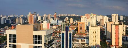 Sao Paulo, Brazil - May 03 2015 : An estimated 20 million people live in greater Sao Paulo, making it the third-largest metropolis on earth. On May 03, 2015 Sao Paulo, Brazil. Stock Photo