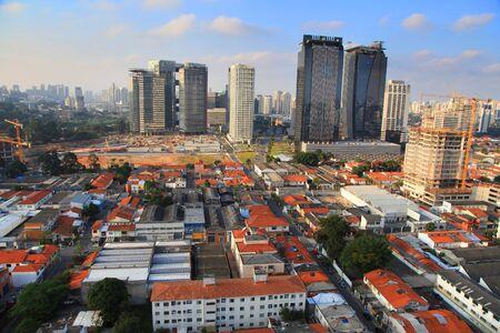 Tall business buildings in Sao Paulo,Brazil.On May 03, 2015 Sao Paulo, Brazil.