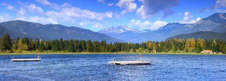 Scenic Alta lake near Whistler, British Columbia