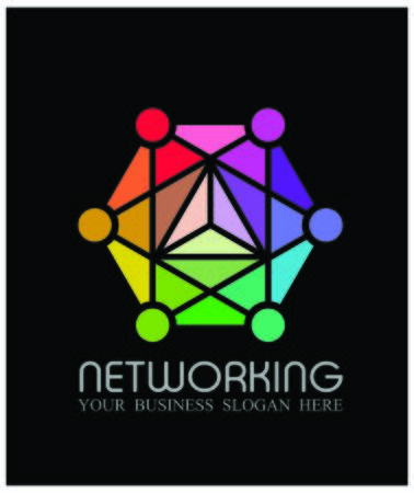 Vector illustration of networking concept Illustration