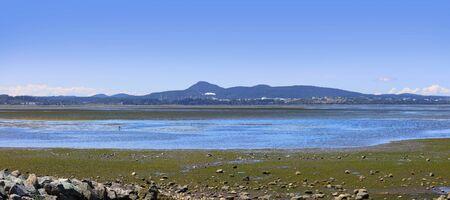 Panoramic view of Padilla bay near Washington state
