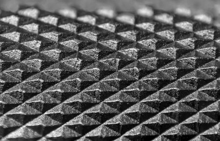 Extreme close up shot of tiny knob knurl created with focus stacking 스톡 콘텐츠