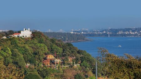 Panoramic view of Goa,India  cityscape from Fort