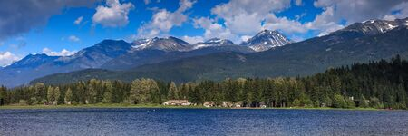 Alta lake in Whistler, British Colombia, Canada Stock Photo