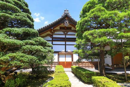 Ginkaku-ji also known as Temple of the Silver Pavilion in Kyoto city,Japan