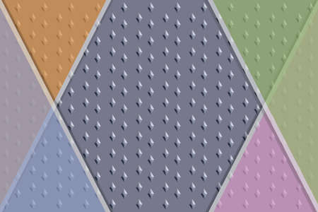Colorful abstract background with pattern created with Three dimensional elements