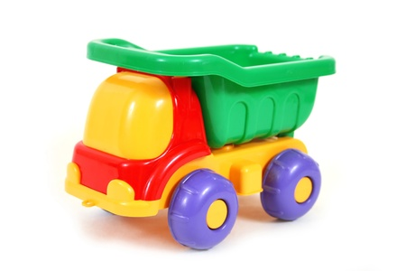 plastic toys: Colorful toy truck