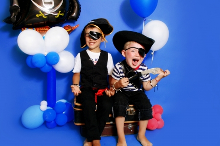 children party:  Two pirate