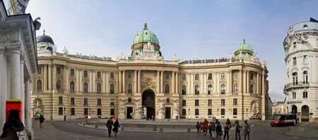 Palace at Hofbug in Vienna, Austria Stock Photo