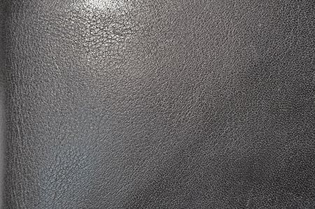 leathery: Black leather texture