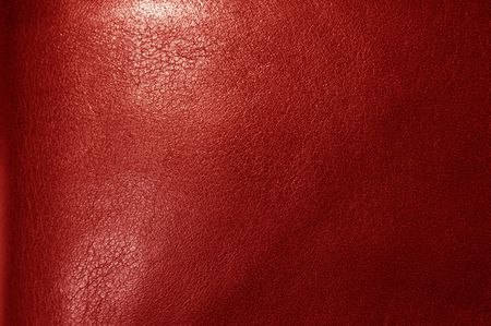leathery: Red leather texture