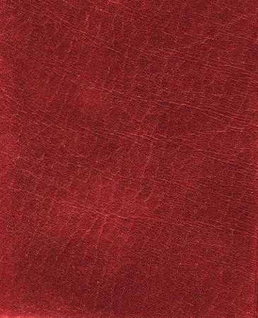 mottled skin: Red fine leather texture background Stock Photo