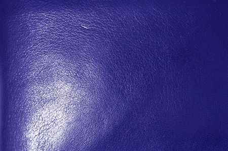 A macro shot of a Blue leather texture Stock Photo - 650657
