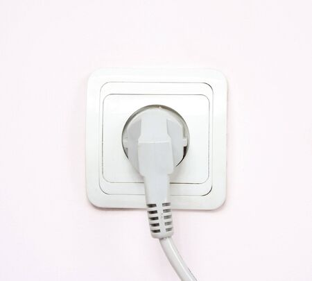 volts: The electric socket, connect cable, wall