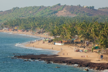 The coast and beach of the southern state of India - Goa