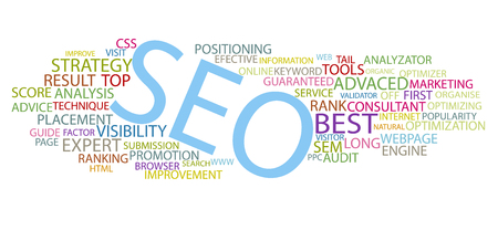 search engine optimized: Seo Illustration