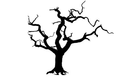 inevitability: Tree vector Illustration