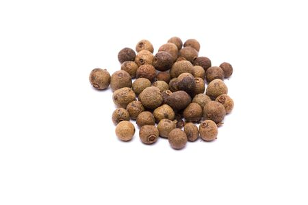 allspice: Allspice isolated on white background Stock Photo