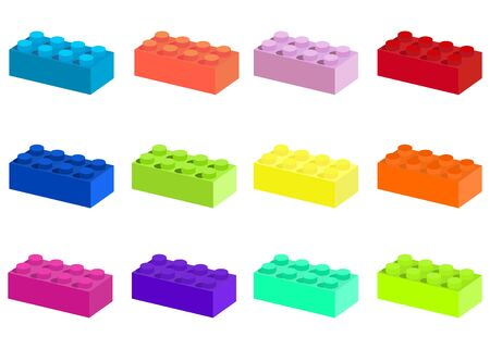 advantages: Colorful construction blocks