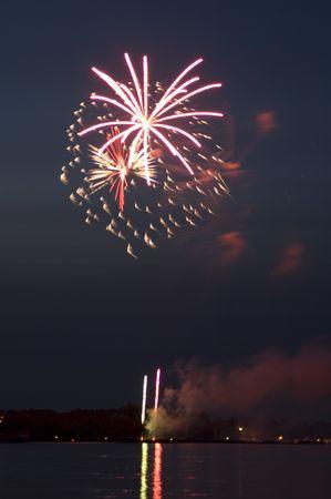 darling: Fireworks over lake darling