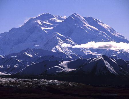 denali: Mt. McKinley Stock Photo