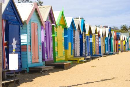brighton beach: Brighton Beach Bathing Boxes