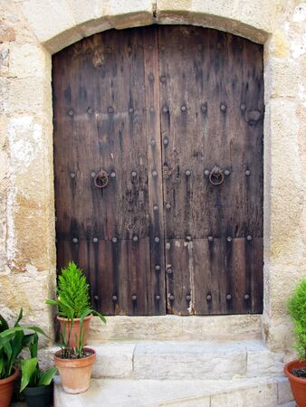 Old wooden door Stock Photo - 7397243
