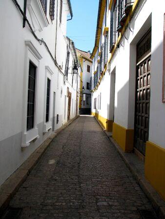 shady narrow street Stock Photo - 9574032