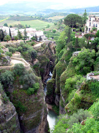 Canyon of Ronda photo