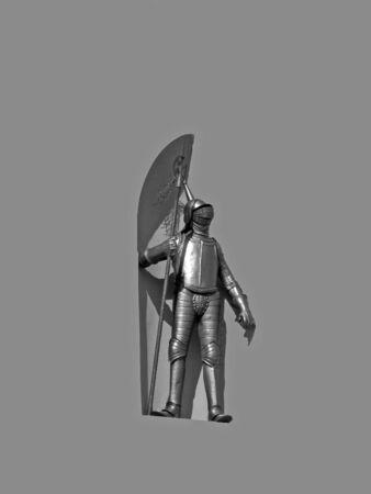 Knight in a shiny armor