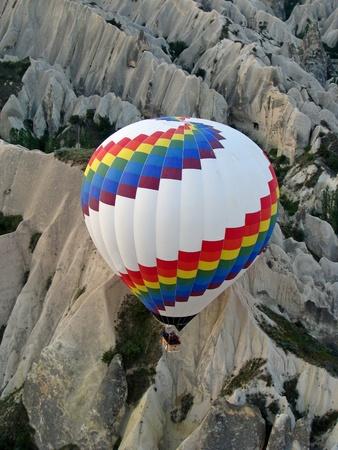 dawn over Cappadocia