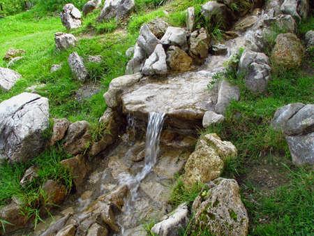 mountain spring Stock Photo