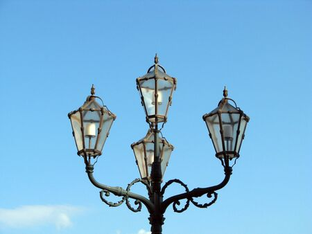 lantern in a day light Stock Photo