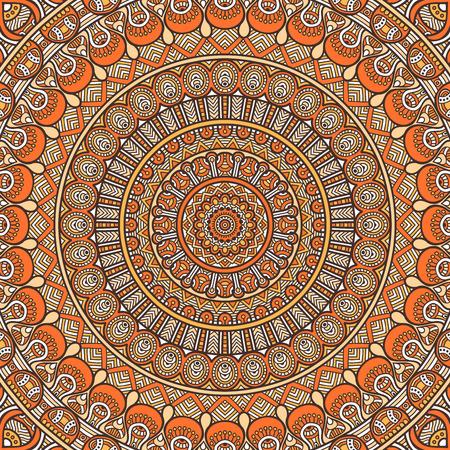 Ornament beautiful  card with mandala. Geometric circle element made in vector 版權商用圖片 - 42206397