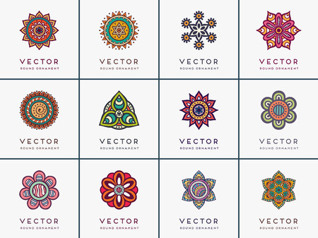 islamic pattern: Ornament beautiful card with mandala. Geometric circle element