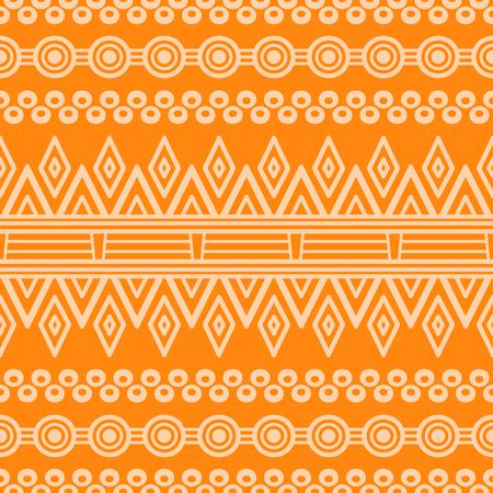 personalausweis: Ethnischen floral nahtlose Muster. Abstrakt muster Illustration