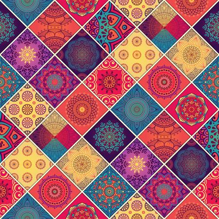 Tnico floral patrón transparente. Ornamentales patrón abstracto Foto de archivo - 52094087